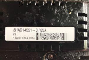 ABB Rectifier 3HAC14551-3/05A