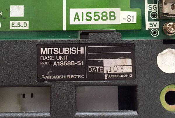 Mitsubishi Base Unit A1S58B-S1